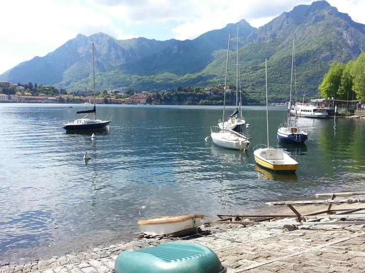 Лекко Ломбардия Италия озеро Комо