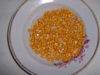 Взять 150 гр. гороха (около половины стакана)