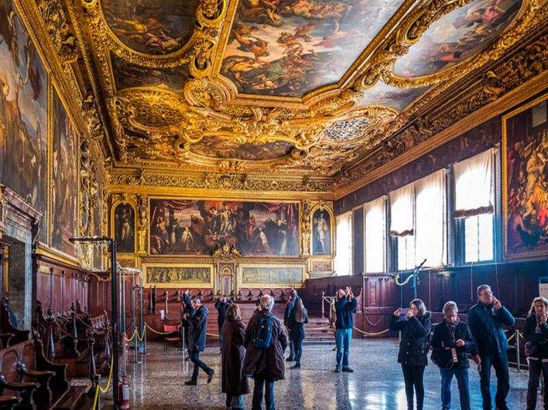 Зал Большого Совета Дворца Дожей