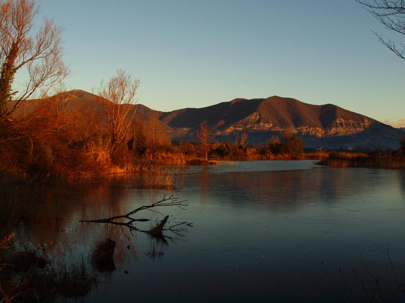 Озеро Изео прекрасно в любое время года