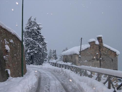 Абруццо зимой похож на сказку!