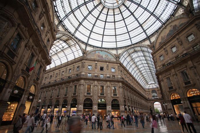 Шоппинг в Милане - Знаменитая галерея Витторио-Эмануэле II