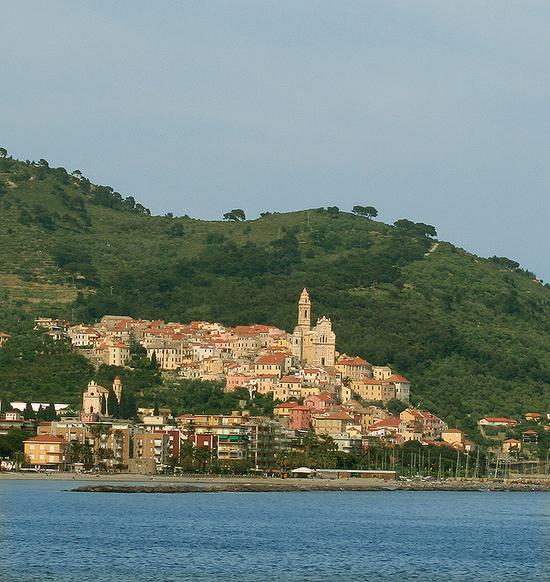 Черво, городок возле Диано-Марино