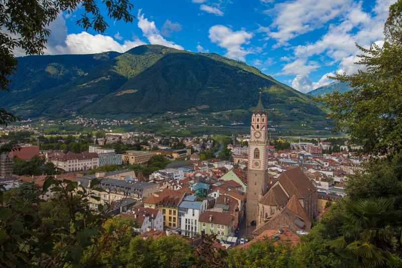 Мерано, провинция Больцано. Фото Антон Гросс