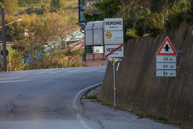 Граница с городом Бароло, фото Антон Гросс