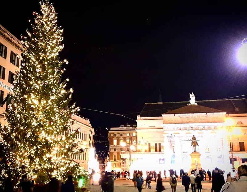 Рождество в Генуе 2019