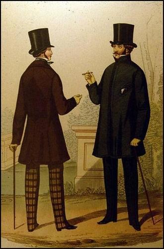 Мода в XIX в