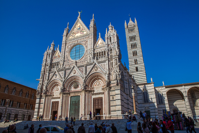 Достопримечательности Сиены Сиенский кафедральный собор фото Антон Гросс