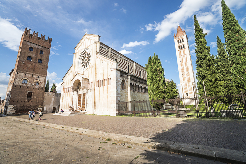 Базилика Сан-Дзено Маджоре (Basilica di San Zeno Maggiore)