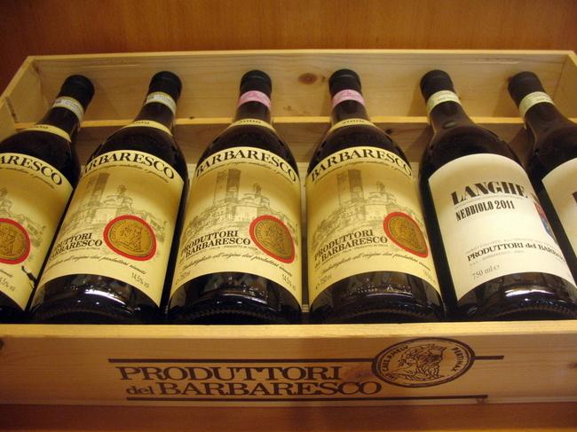 Вино от социальной винодельни Барбареско