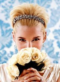 Свадебные прически 2010