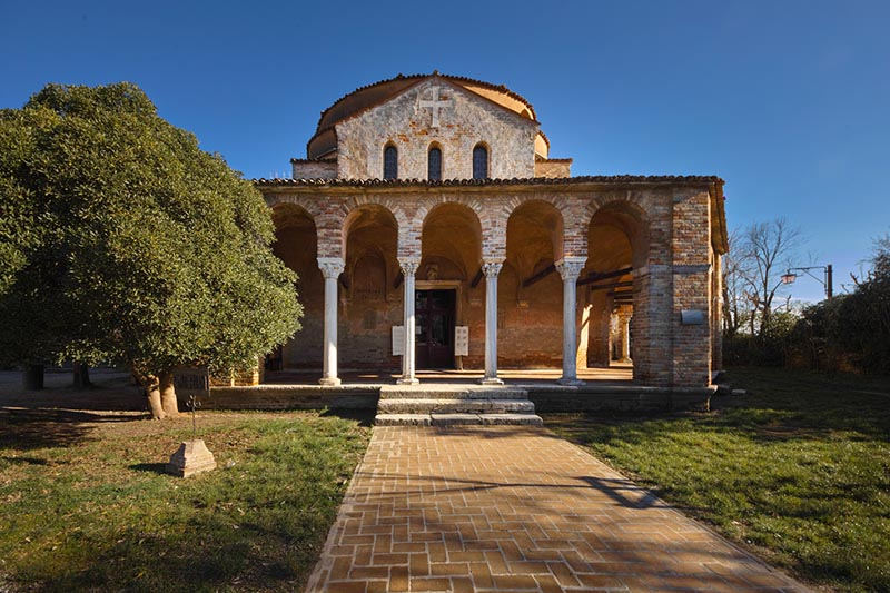 Остров Торчелло. Церковь Санта-Фоска