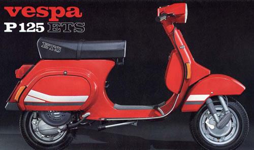 Vespa Piaggio 125 CC