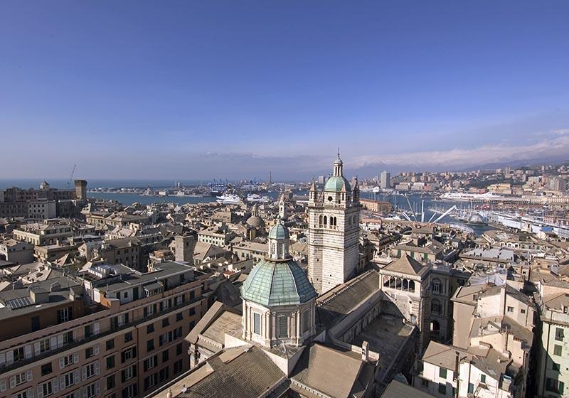 Вид на Геную, фото Thinkstock